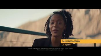 Audible Inc. TV Spot, 'Actual Listeners: Hooked Really Fast' - Thumbnail 8