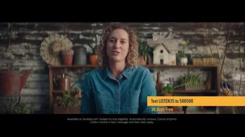 Audible Inc. TV Spot, 'Actual Listeners: Hooked Really Fast'