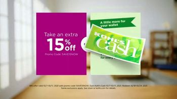 Kohl's Sonoma Goods for Life TV Spot, 'Make Life Better: Extra 15% Off and $10 Cash' Song by Grace Mesa - Thumbnail 8