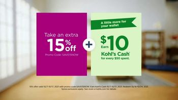 Kohl's Sonoma Goods for Life TV Spot, 'Make Life Better: Extra 15% Off and $10 Cash' Song by Grace Mesa - Thumbnail 9