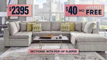 Rooms to Go Fall Sale TV Spot, 'Cindy Crawford Sectional'