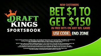 DraftKings Sportsbook TV Spot, 'Any NFL Game: Bet $1, Win $150' - Thumbnail 4