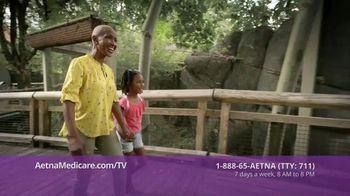 Aetna Medicare Advantage Plans TV Spot, 'Zoo: $150 Healthy Rewards'