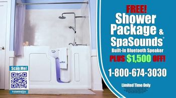Safe Step TV Spot, 'Look No Further: Free Shower Package, Free SpaSounds Speaker, $1,500 Off' - Thumbnail 9