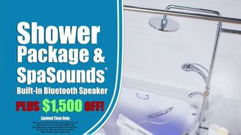 Safe Step TV Spot, 'Look No Further: Free Shower Package, Free SpaSounds Speaker, $1,500 Off' - Thumbnail 3