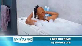 Safe Step TV Spot, 'Look No Further: Free Shower Package, Free SpaSounds Speaker, $1,500 Off' - Thumbnail 5