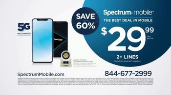 Spectrum Mobile Unlimited TV Spot, 'The Best Deal in Mobile' - Thumbnail 10