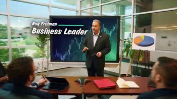 16th District Democrats TV Spot, 'Roy Freiman & Sadaf Jaffer: Working Experience' - Thumbnail 2