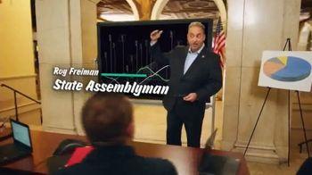 16th District Democrats TV Spot, 'Roy Freiman & Sadaf Jaffer: Working Experience' - Thumbnail 3