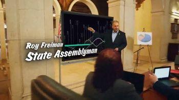 16th District Democrats TV Spot, 'Roy Freiman & Sadaf Jaffer: Working Experience' - Thumbnail 4