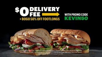 Subway TV Spot, 'Not Skidding Around: BOGO 50% off Footlongs' Featuring Kevin Harvick - Thumbnail 6