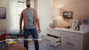 Wayfair TV Spot, 'Bar Stools and Durable Dresser Kevin' Featuring Kelly Clarkson