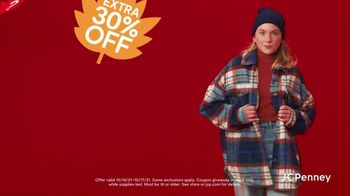 JCPenney Fall Mystery Sale TV Spot, 'Fall Fashions'