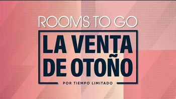 Rooms to Go Venta de Otoño TV Spot, 'Juego de sala de cinco piezas' [Spanish] - Thumbnail 6