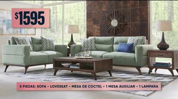 Rooms to Go Venta de Otoño TV Spot, 'Juego de sala de cinco piezas' [Spanish] - Thumbnail 4