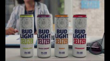 Bud Light Seltzer TV Spot, 'First Date' Featuring Nick Mangold