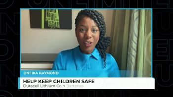 DURACELL TV Spot, 'Unlimited: Child Safety' Featuring Oneika Raymond - Thumbnail 3