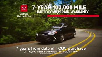 Toyota Certified Used Vehicles TV Spot, 'Synonymous With Trust' [T2] - Thumbnail 5