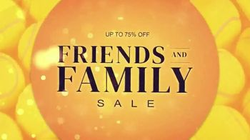 Tennis Express Friends and Family Sale TV Spot, 'Your Favorite Shoes and Apparel' - Thumbnail 1
