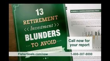 Fisher Investments TV Spot, \'Heard on the Street: Retirement Blunders\'