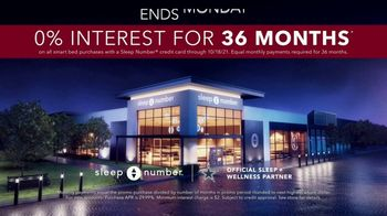 Sleep Number Fall Sale TV Spot, 'Weekend Special: Cowboys Powering: Save $800' - Thumbnail 8