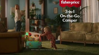 Fisher-Price 3-in-1 On-the-Go Camper TV Spot, 'Love Being a Camper'