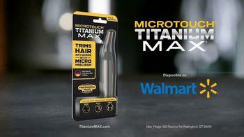MicroTouch Titanium Max TV Spot, 'Llévalo al max' [Spanish] - Thumbnail 8