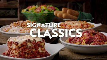 Olive Garden Signature Classics TV Spot, 'Cremosos, deliciosos e irresistibles' [Spanish]