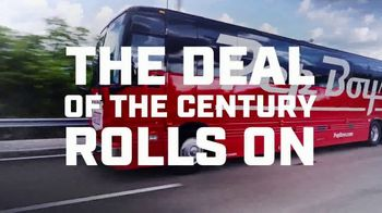 PepBoys Fall Car Care Month TV Spot, '100 Year Anniversary: 4 Select Tires for as Low as $150'