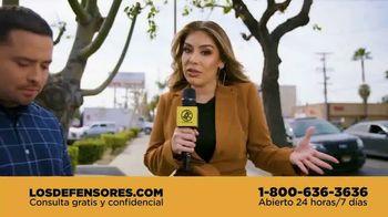 Los Defensores TV Spot, 'Saber sus derechos' con Evelyn Sicairos [Spanish]