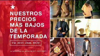 Macy's TV Spot, 'Los precios más bajos de la temporada: brazaletes, anillos, ropa de cama' [Spanish]