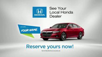 Honda TV Spot, 'Your Name' [T1] - Thumbnail 8