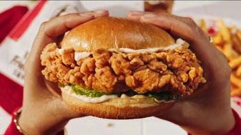 KFC Chicken Sandwich TV Spot, 'Only One First Bite'
