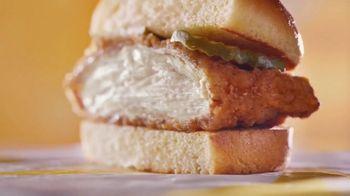 McDonald's Crispy Chicken Sandwich TV Spot, 'Free Medium Fries' Song by Tay Keith - Thumbnail 3