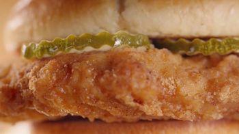 McDonald's Crispy Chicken Sandwich TV Spot, 'Free Medium Fries' Song by Tay Keith - Thumbnail 4