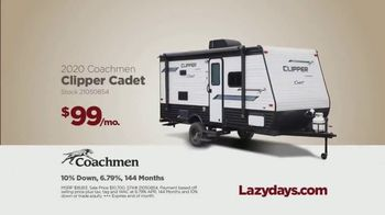 Lazydays TV Spot, 'Stay Home and Go Anywhere: 2020 Coachman Clipper Cadet' - Thumbnail 7