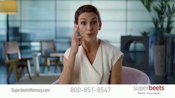 SuperBeets Memory + Focus Chews TV Spot, 'Dr. Marcella Madera'