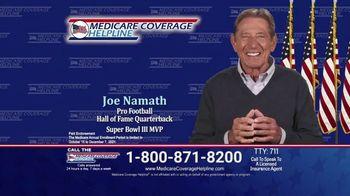 Medicare Coverage Helpline TV Spot, 'Open Enrollment is Simple' Featuring Joe Namath