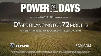 Ram Trucks Power Days TV Spot, 'That Was Then, This Is Ram: History' Song by Chris Stapleton [T2] - Thumbnail 8