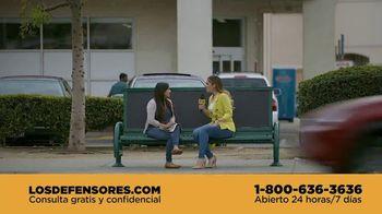 Los Defensores TV Spot, '¿Quién es tu defensor?' con Evelyn Sicairos [Spanish]