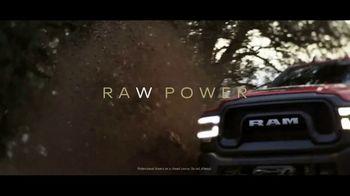 Ram Trucks Power Days TV Spot, 'Raw Power vs. Ram Power' [T2] - Thumbnail 1