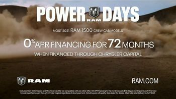 Ram Trucks Power Days TV Spot, 'Raw Power vs. Ram Power' [T2] - Thumbnail 9