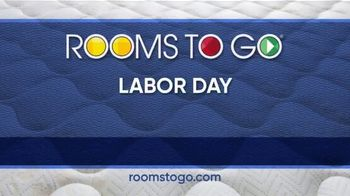 Rooms to Go Labor Day Mattress Sale TV Spot, 'Extended: Tempur-Pedic Mattress, 2 Free Pillows' - Thumbnail 9