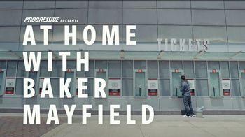 Progressive TV Spot, 'Baker Mayfield Holds a Yard Sale' Featuring Jedrick Wills Jr. - Thumbnail 2