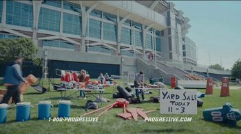 Progressive TV Spot, 'Baker Mayfield Holds a Yard Sale' Featuring Jedrick Wills Jr. - Thumbnail 7