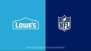 Lowe's TV Spot, 'There's a New Team in the NFL' Ft. Drew Brees,Calais Campbell,Kelvin Lee Beachum Jr - Thumbnail 10