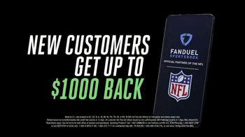FanDuel Sportsbook TV Spot, 'NFL: New Customers Get $1,000 Back' Song by David McCallum - Thumbnail 8