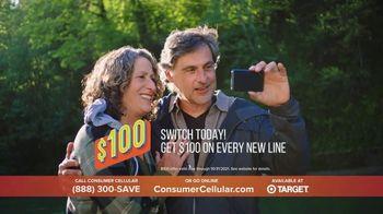 Consumer Cellular TV Spot, 'NBY Flexible Plans: $100 Off' - Thumbnail 8