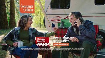 Consumer Cellular TV Spot, 'NBY Premium Wireless: $100 Off'