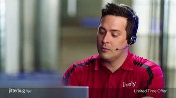 GreatCall Lively Flip 2 TV Spot, 'Touch of a Button: 25% Off'